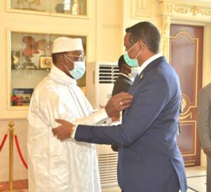 Tchad : le vice-président soudanais reçu par Idriss Deby