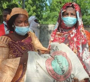 Tchad : la distribution de kits alimentaires se poursuit à N'Djamena
