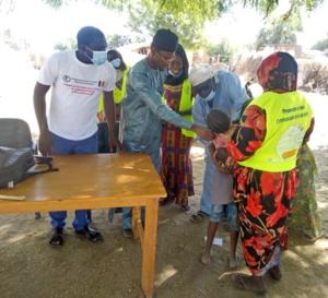 Tchad : la campagne de vaccination contre la rougeole lancée à Kerfi, au Sila
