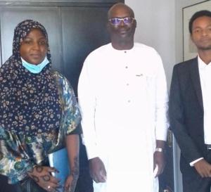 Tchad : Le ministre de la Culture a reçu le directeur pays d'Hult Prize