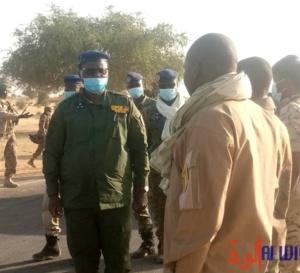 Tchad : le directeur général de la Gendarmerie en mission à Abéché