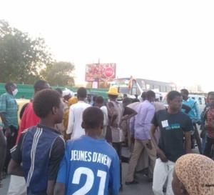 N'Djamena : un motocycliste percute une femme et lui casse la jambe