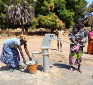 Tchad : de l'eau pour la population de Toumsou dans le canton Kabalaye