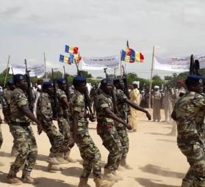Tchad : quatre officiers élevés à des grades supérieurs
