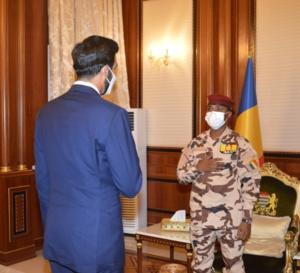 Tchad : le chef de la diplomatie émiratie reçu à la Présidence