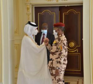 Tchad : le chef de la diplomatie du Qatar reçu à la Présidence
