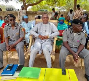 Tchad : le nouveau délégué provincial de la police du Batha a pris fonction