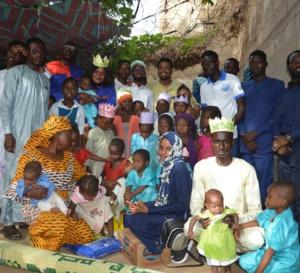 Tchad : l'AJVH offre une assistance à un orphelinat de N'Djamena