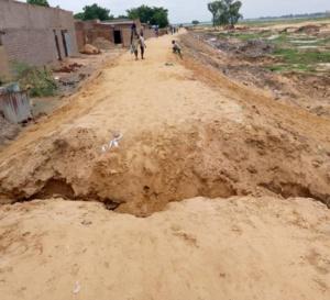 Tchad : la digue sous la pression humaine au 9ème arrondissement de N'Djamena