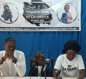 """La jeune rappeuse Di la Grâce lance son single et clip """"Enfants du Tchad"""""""