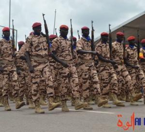 Tchad : 11.000 soldats actuellement en formation dans les centres militaires d'instruction