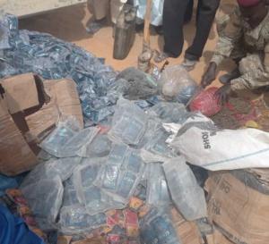 Tchad : des produits prohibés saisis par la Commission mixte de sécurité