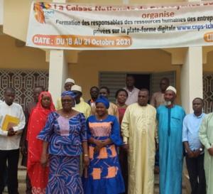 Tchad : la CNPS forme les responsables des ressources humaines sur sa digitalisation