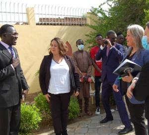 Tchad : des diplomates américains visitent le centre Hapinness