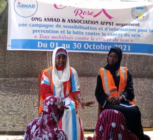 Tchad : l'ONG ASHAD et l'AFPST sensibilisent sur le cancer du sein