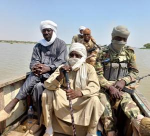 Tchad : une île ravagée par un incendie au Lac