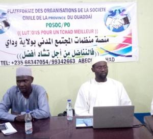 Tchad : la POSOC ne reconnait pas le pré-forum de la province du Ouaddaï