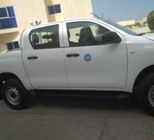 Tchad : l'OMS offre un véhicule à la faculté des sciences de la santé humaine de Ndjamena