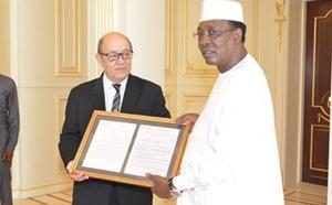 """Terrorisme : La France remercie le Tchad pour son """"soutien total"""""""
