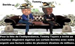 Avec la complicité de la présidente Khadra Haid, l'ivoirien Tommy Tayoro a fait un gros caca sur le drapeau national djiboutien