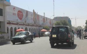 L'avenue Charles de Gaulle le lundi 22 janvier à N'Djamena. Alwihda