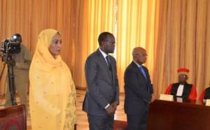Tchad: trois ministres prêtent serment à la Présidence.