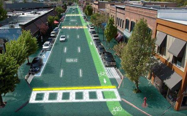 Des routes écologiques, une première en Hollande