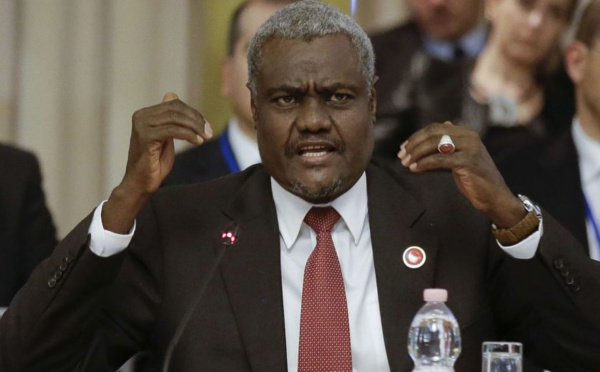 Attentat Angleterre : Moussa Faki appelle à une coopération renforcée dans le renseignement