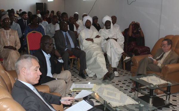 1er centre international de lutte contre le terrorisme au Tchad