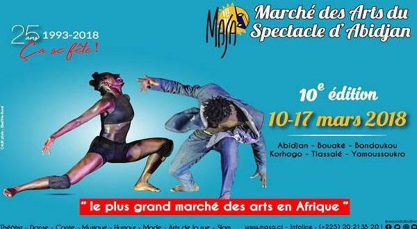 La Francophonie aux côtés du MASA depuis 25 ans (Abidjan-Côte d'Ivoire du 10 au 17 mars 2018)