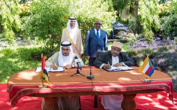 Le Fonds d'Abou Dhabi dédie 184 M dirhams émiratis pour des projets de développement aux Comores
