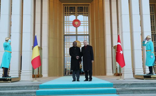 Ankara : Déby reçu par Erdogan au Palais présidentiel