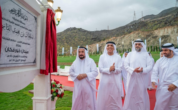 EAU : l'autoroute historique de KhorFakkan et plusieurs projets inaugurés
