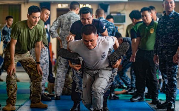 Les États-Unis se joignent à 10 pays de l'Indo-Pacifique pour un exercice anti-piraterie