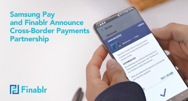 Samsung Pay et Finablr annoncent un partenariat de paiement transfrontalier