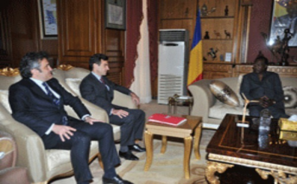 Tchad Le groupe français Bolloré reçu à la Présidence