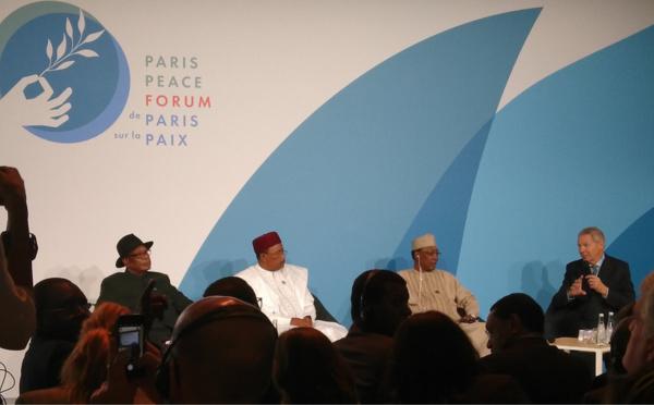 """Forum sur la paix : """"Les terroristes sont mieux armés que nos armées"""", Idriss Déby"""