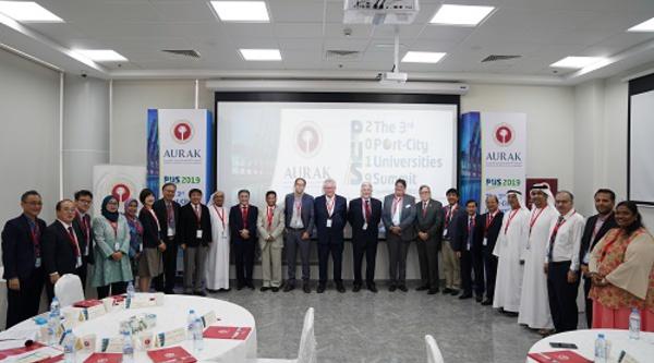 AURAK accueille le 3ème « Sommet des Universités de Villes Portuaires »