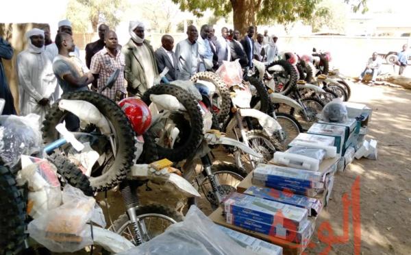 Tchad : un appui en matériel et motos à la délégation à l'enseignement du Sila