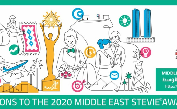 L'annonce des lauréats du Middle East Stevie Awards 2020