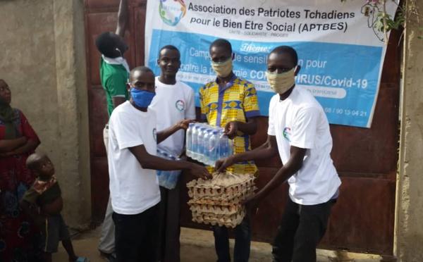Tchad / Covid-19 : des citoyens se mobilisent pour venir en aide et sensibiliser