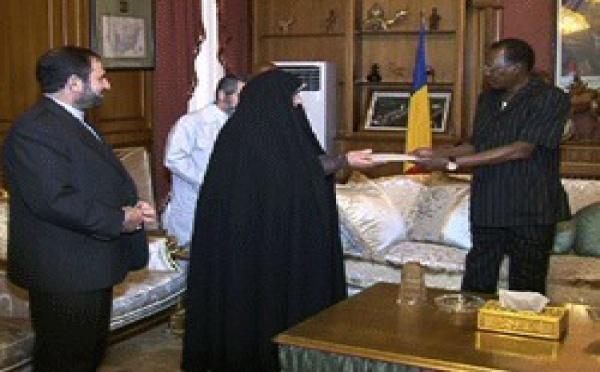 Tchad : La vice-présidente iranienne reçue par Idriss Déby