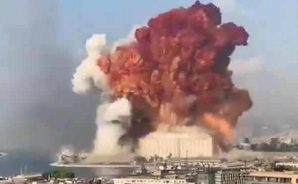 Liban : une importante explosion secoue la capitale Beyrouth