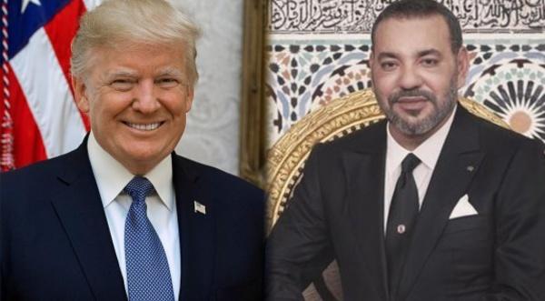 Diplomatie : Concertation entre le Roi Mohammed VI et Donald Trump