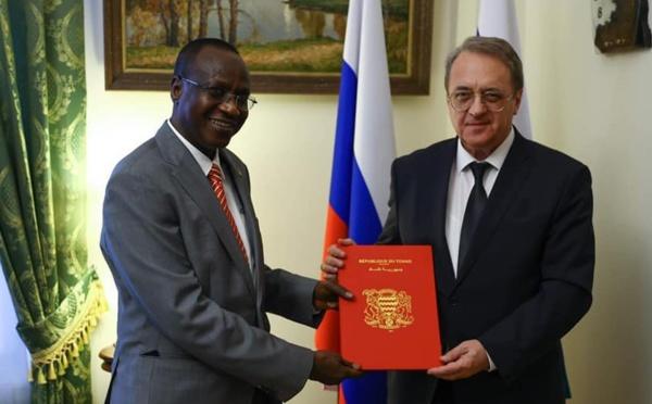 Russie : L'ambassadeur du Tchad Mahamoud Adam Bachir présente ses lettres de créance