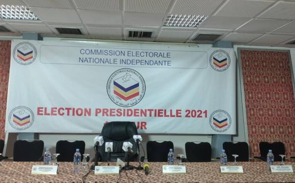Tchad : la CENI dévoilera les résultats provisoires globaux de l'élection ce soir