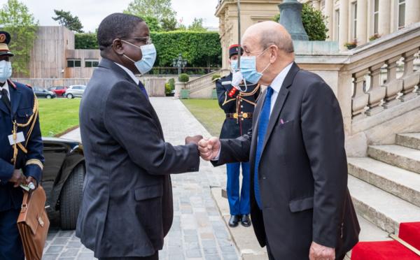 Tchad-France : Pahimi Padacké a rencontré Le Drian à Paris