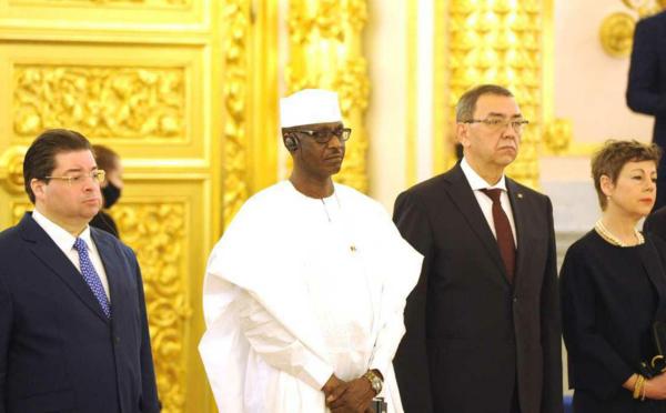 Russie : l'ambassadeur du Tchad présente ses lettres de créance à Poutine