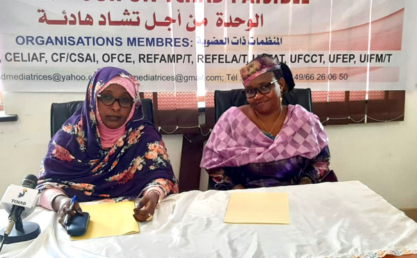 Tchad : une coalition de femmes se mobilise pour la paix