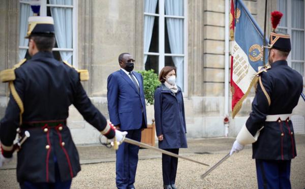 France : Le ministre tchadien de la défense reçu par son homologue français